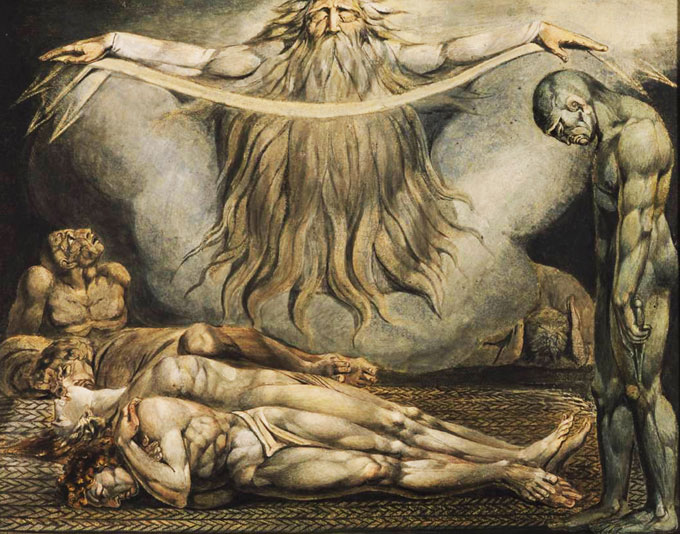 "Image of William Blake's ""House of Death"""