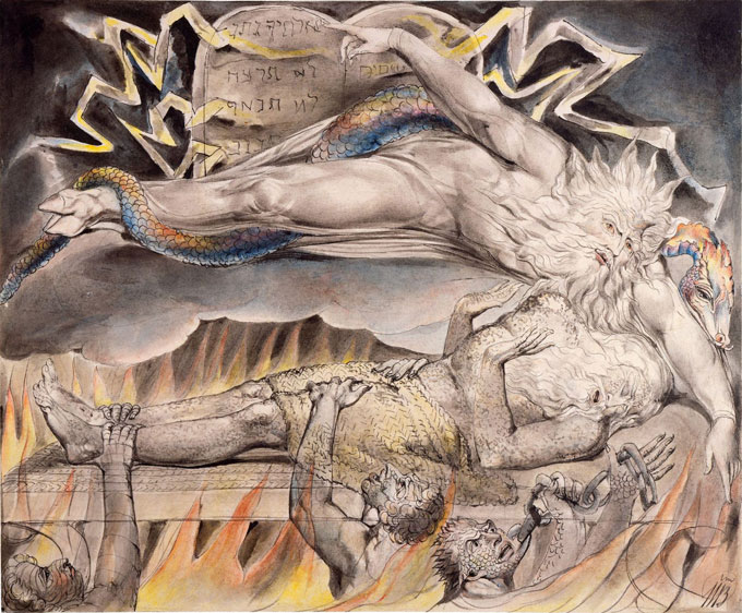 "Image of William Blake's ""Job"""