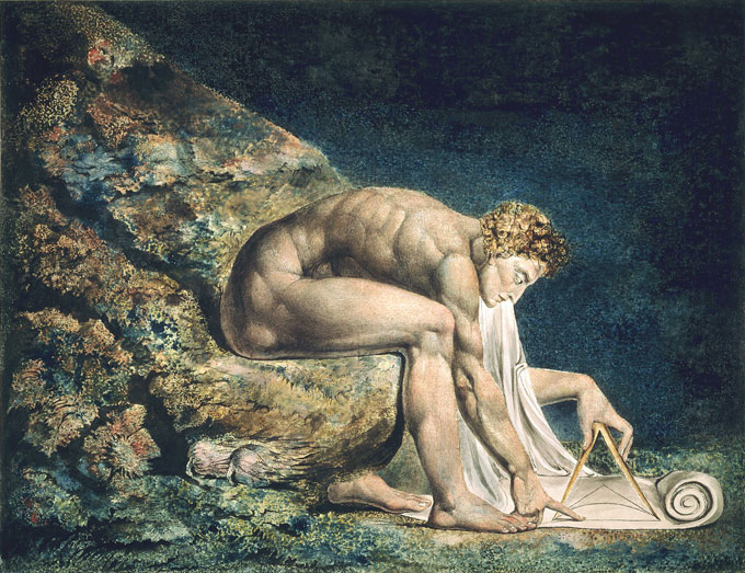 "Image of William Blake's ""Newton"""