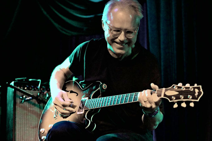 Image of jazz guitarist and John Steinbeck composer Bill Frisell