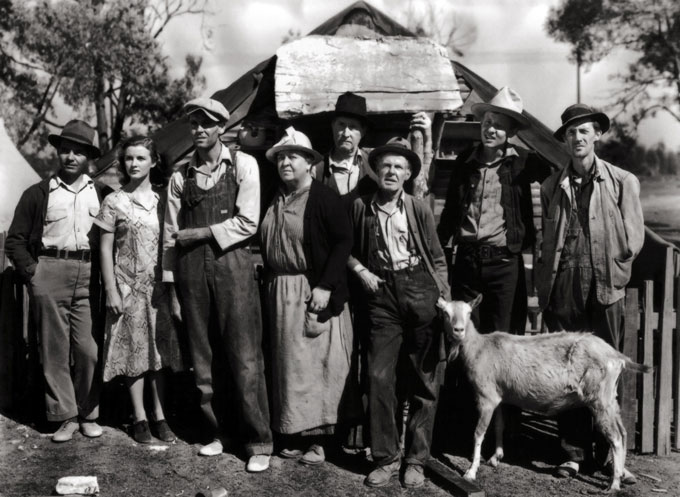 Image from John Steinbeck's The Grapes of Wrath