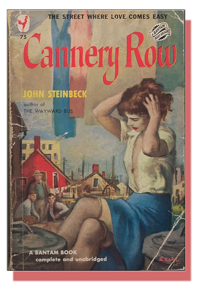 Paperback cover image from John Steinbeck's Cannery Row