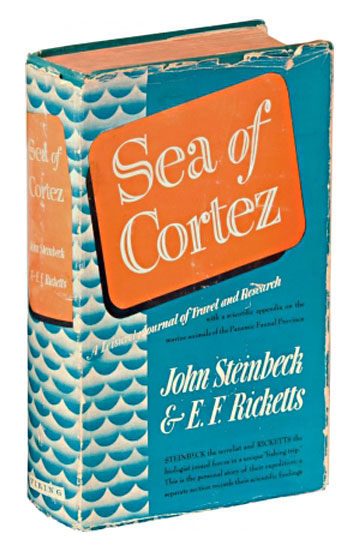 Cover image of the first edition of Sea of Cortez