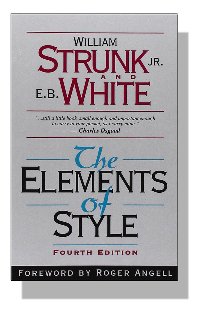Image of Strunk and White's how-to-write classic, The Elements of Style