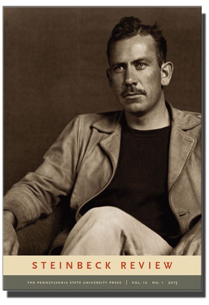 Cover image of spring 2015 issue of John Steinbeck Review