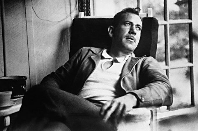 Image of John Steinbeck at home in Pacific Grove