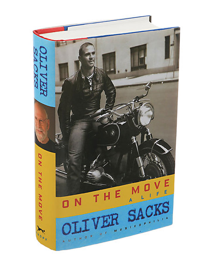 Cover image of Oliver Sacks's memoir, On the Move