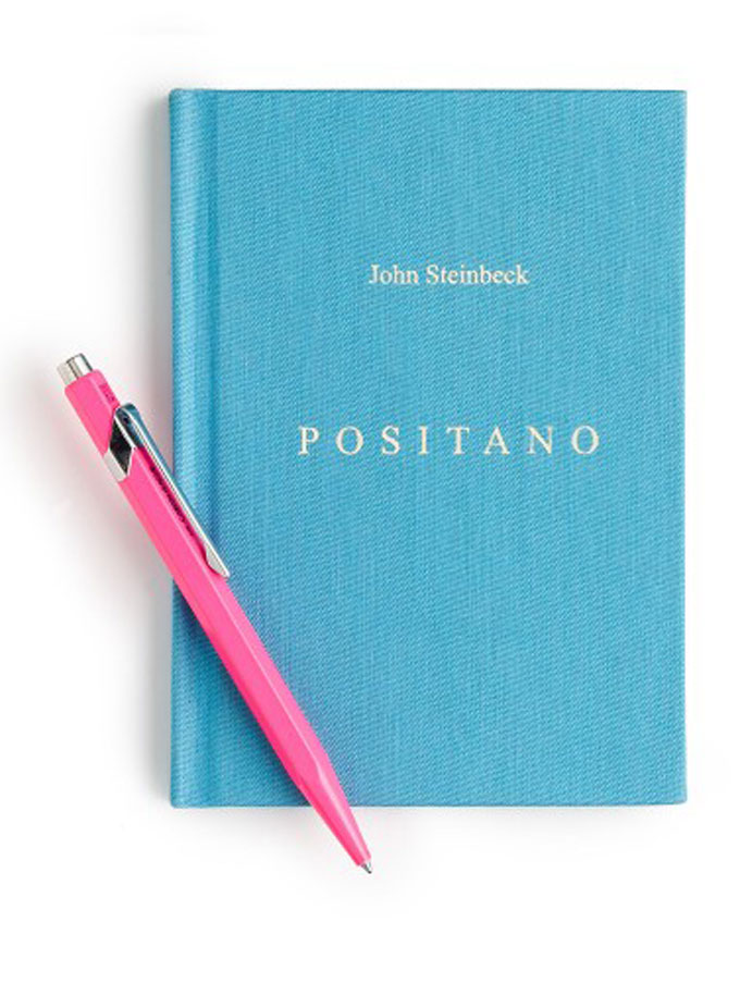 J. Crew's image of specially bound John Steinbeck travel piece