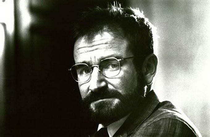 Image of Robin Williams in the film role of Oliver Sacks