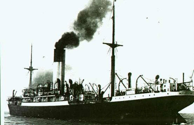 Image of the SS Automedon