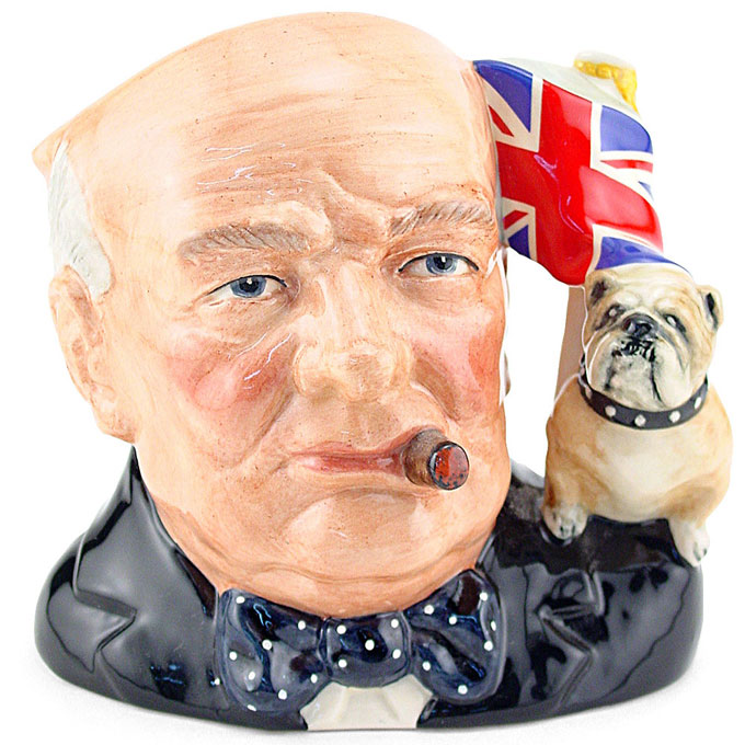 Image of Winston Churchill mug