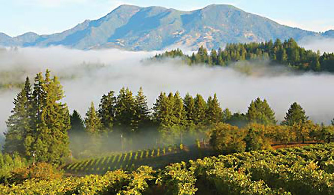 Image of Mt. St. Helena