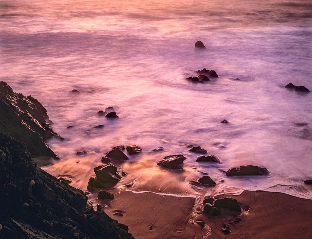 Image of Garrapta Beach sunset photo by Charles Cramer