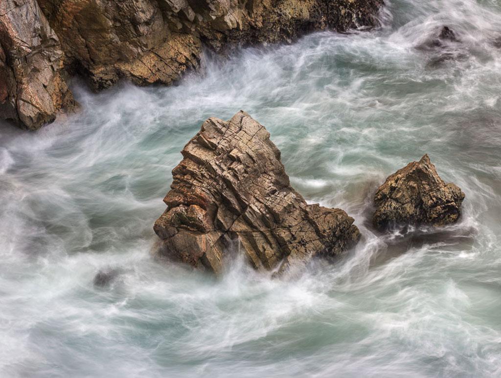 Image of Point Lobos rocks photo by Charles Cramer
