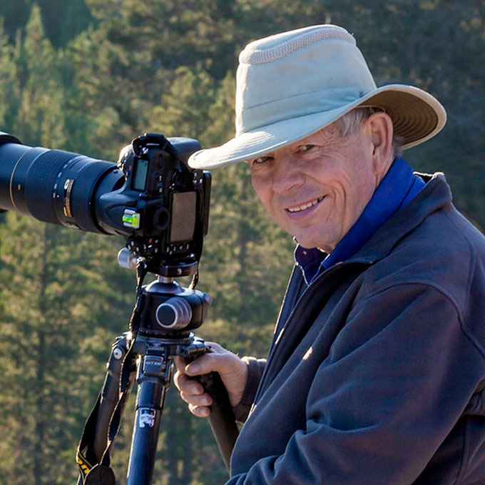 Image of Charles Cramer, musician and master of nature photography