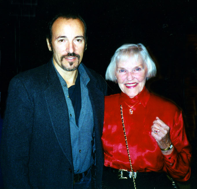 Image of Bruce Springsteen and Martha Cox