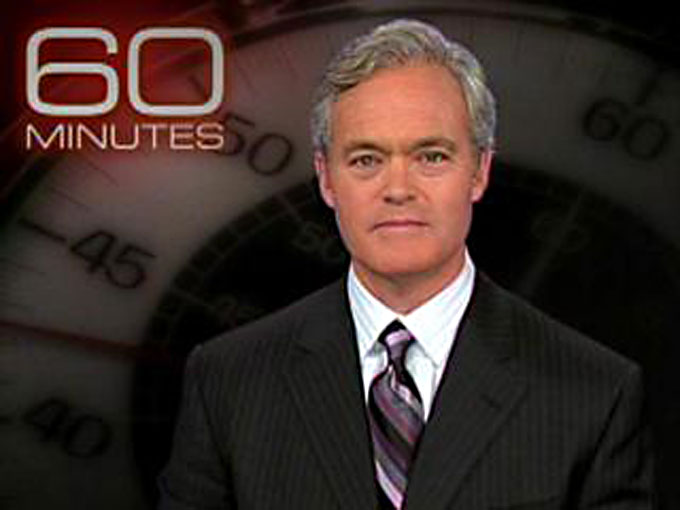 Image of CBS News reporter Scott Pelley