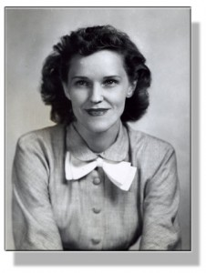 Image of Martha Cox as an undergraduate at Lyon College