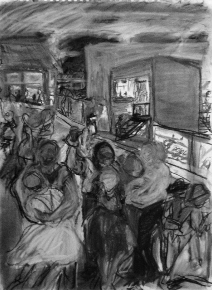 Portrait image of Carnnery Row by the artist CKline (Caroline)