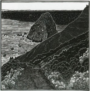 Image of Cape Mendocino, 2014, by Tom Killion