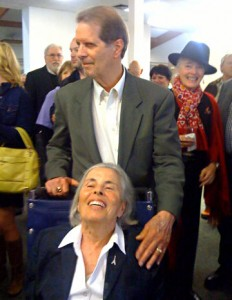 Image of Steve and Nancy Hauk at Pacific Grove Library announcement