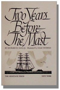 Cover image from Two Years Before the Mast