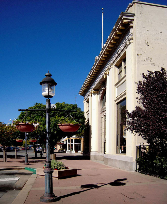 Image of former Monterey County Bank Building by David A. Laws