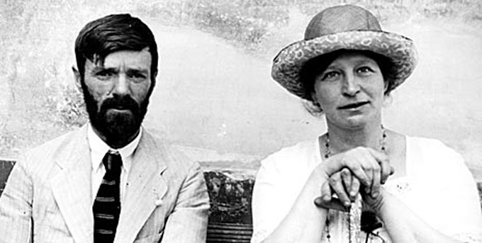 Image of D.H. Lawrence wife wife Frieda