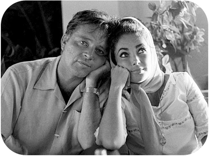 Image of Richard Burton and Elizabeth Taylor