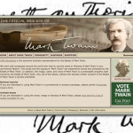 Mark Twain and Ernest Hemingway Lead John Steinbeck in Search for Single-Author Websites