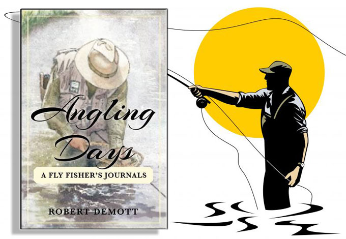 Cover image from Angling Days, a journal of fly fishing