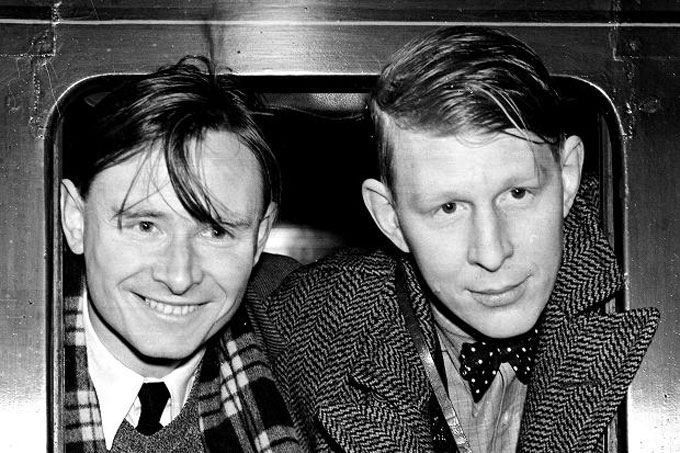 Image of Christopher Isherwood and W.H. Auden in 1939