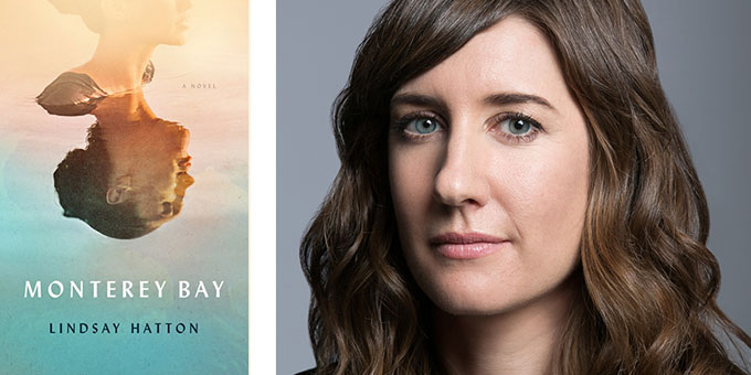 Cover image of Monterey Bay with author Lindsay Hatton
