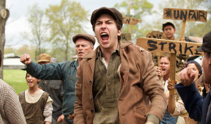 <em>In Dubious Battle</em> Motion Picture by  James Franco, Steinbeck Fan, Premieres