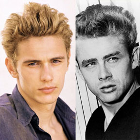 Image of James Franco as James Dean