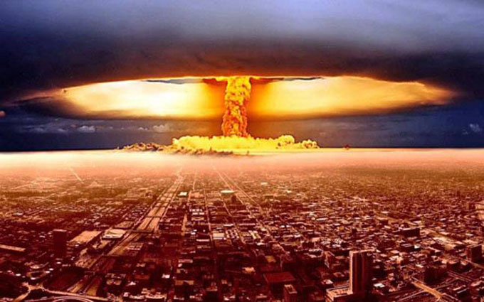 Image of nuclear blast in Stephen King's alternate history of America