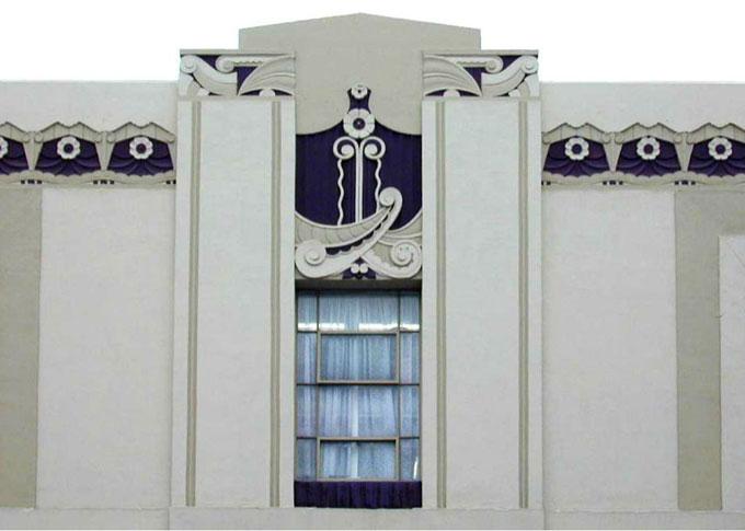Image of Art-Moderne newspaper building in Salinas, California