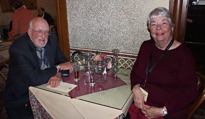 Image of Peter Hoss and Carol Robles at Steinbeck House