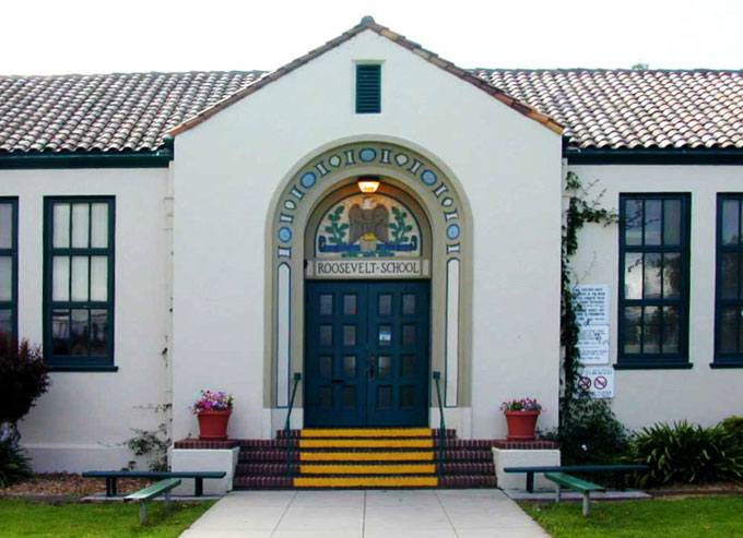Image of Roosevelt School in Salinas, California
