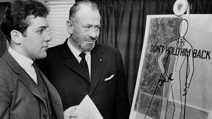 Image of Thom and John Steinbeck