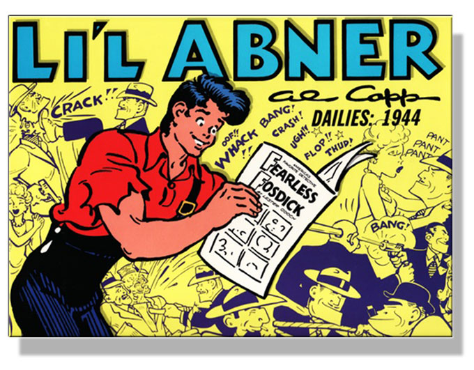 Image of Li'l Abner comic strip