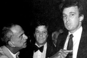 Image of Roy Cohn and Donald Trump