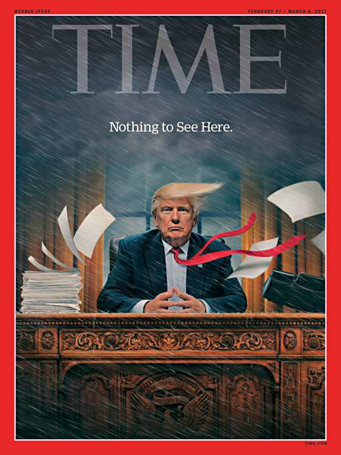 Time cover image of Donald Trump