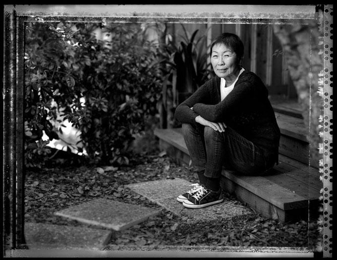 Image of Jane Yanagi Diamond at home in Carmel today