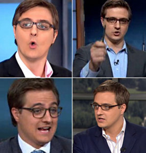 Composite image of Chris Hayes