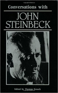 "Cover image from ""Conversations with John Steinbeck"""