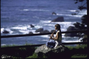 Image of hippie near Monterey