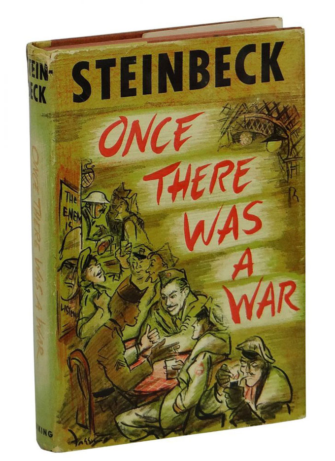 Cover image of John Steinbeck's World War II dispatches