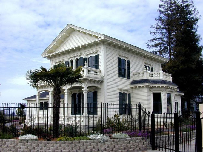 Image of Rodgers family home, Watsonville, California