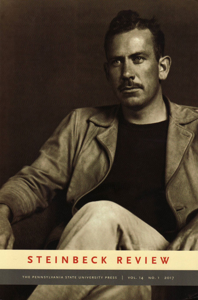Cover image of 2017, No. 1 Steinbeck Review